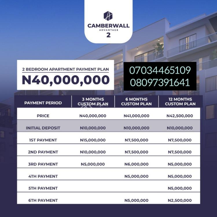 2 Bedroom Apartments, Camberwall Advantage, Ikate, Lekki, Lagos, Block of Flats for Sale