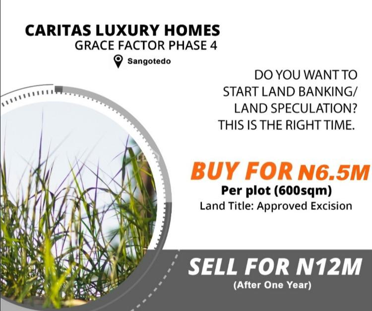 Dry Land in an Estate, Beside Cooperative Villa, Badore, Ajah, Lagos, Residential Land for Sale