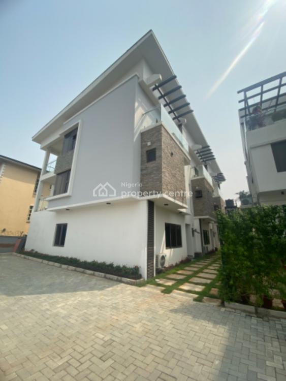 Lovely Fully Serviced 4 Bedroom Duplex in a Secured Estate, Ikoyi, Lagos, Terraced Duplex for Rent