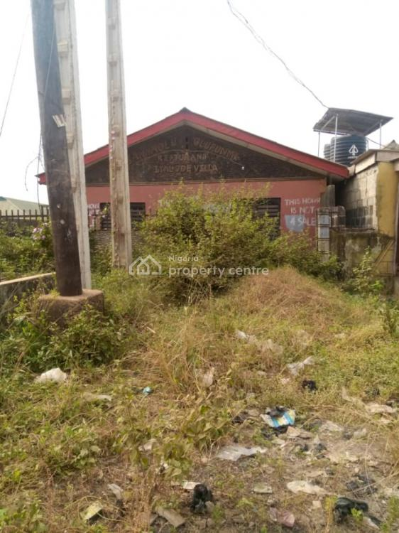 a Bungalow on a Half Plot, Gberigbe Road, Ikorodu, Lagos, Detached Bungalow for Sale
