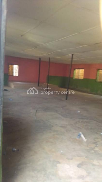 Commercial Warehouse Hall with Toilet. Good Location for All Purpose, Alimosho By Egbeda, Alimosho, Lagos, Warehouse for Rent