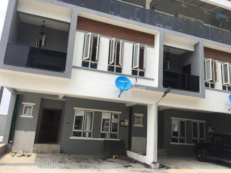 Newly Built Luxury 4 Bedroom Fully Finished and Fully Serviced, Victoria Garden Bay 3, Ikate Elegushi, Lekki, Lagos, Terraced Duplex for Rent