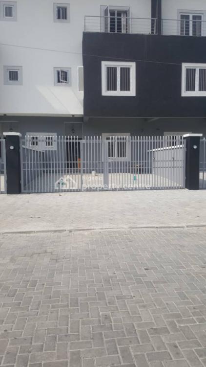 Luxury 4 Bedroom Terrace Duplex with Bq in a Self Compound., U3 Estate, Lekki Right, Lekki, Lagos, Terraced Duplex for Sale