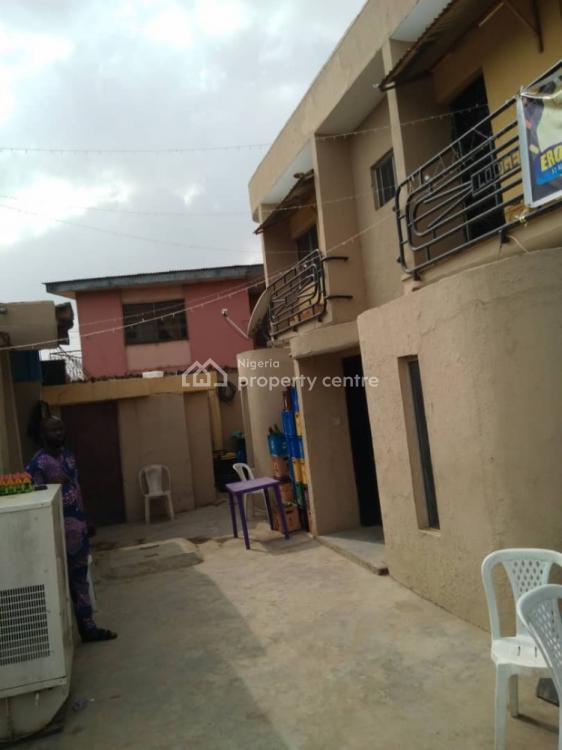 Standard 5 Bedroom Duplex with 2 Flats of 3 Bedroom on Full Plot, Mafoluku, Oshodi, Lagos, Block of Flats for Sale
