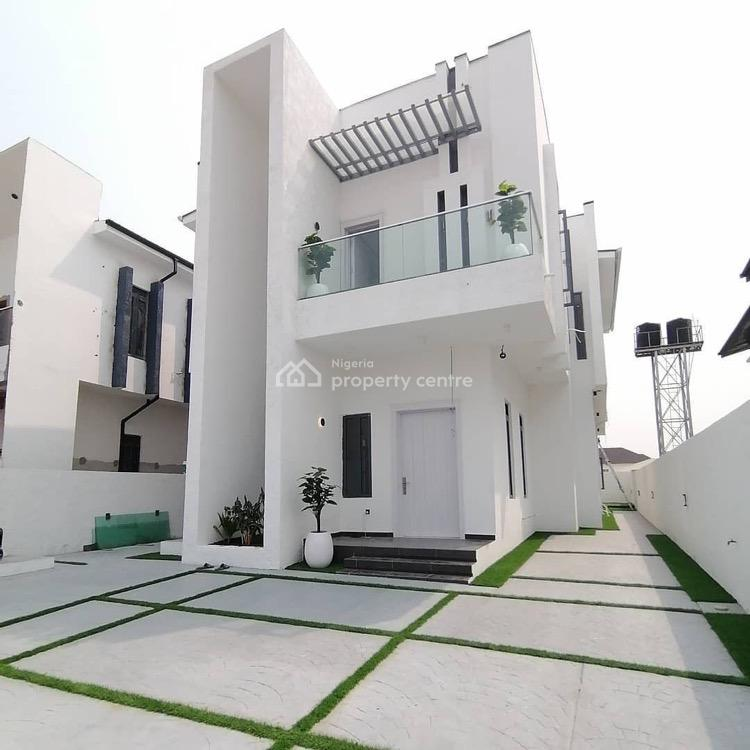 Contemporary 5 Bedroom Fully Detached Duplex with Bq, Swimming Pool, Lekki, Lagos, Detached Duplex for Sale