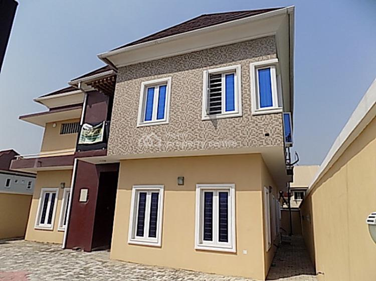 New House 4 Bedroom Fully Detached Duplex with Bq, Ologolo, Lekki, Lagos, Detached Duplex for Sale
