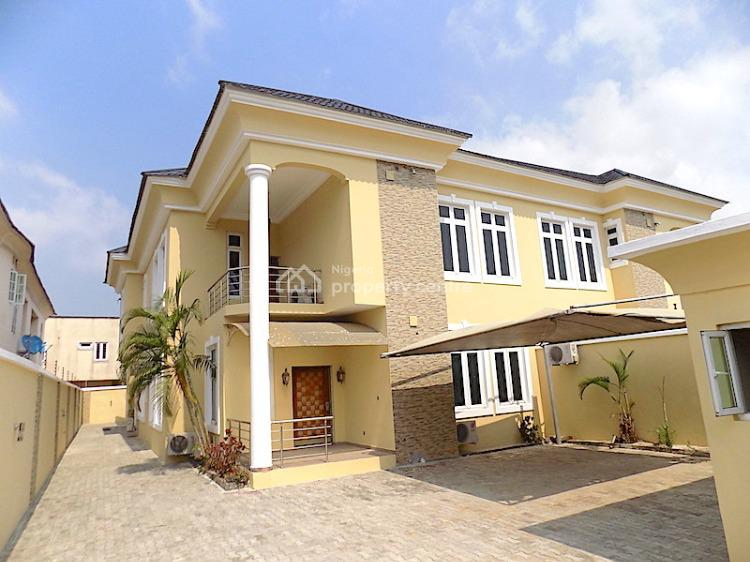 Clean and Very Neat 4 Bedroom Semi Detached with 2 Rooms Bq + Ac, Lekki Phase 1, Lekki, Lagos, Semi-detached Duplex for Rent