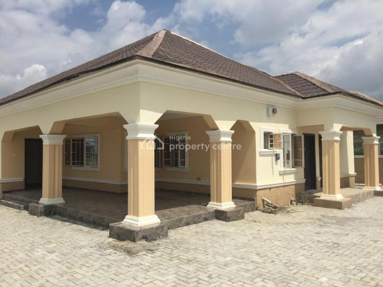 a Newly Built 3 Bedroom Detached Bungalow, Oilspring Estate, Lugbe District, Abuja, Detached Bungalow for Rent