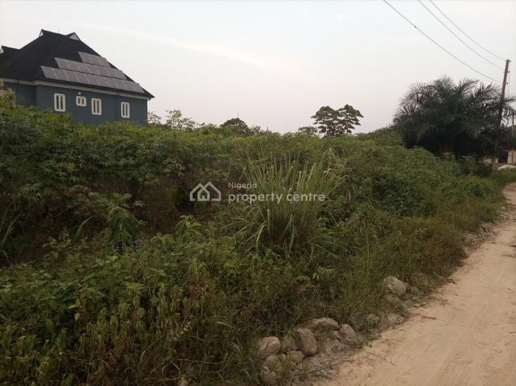 Well Located Conerpiece One Plot of  Dry Land., Adjacent Road 3, Port Harcourt, Rivers, Residential Land for Sale