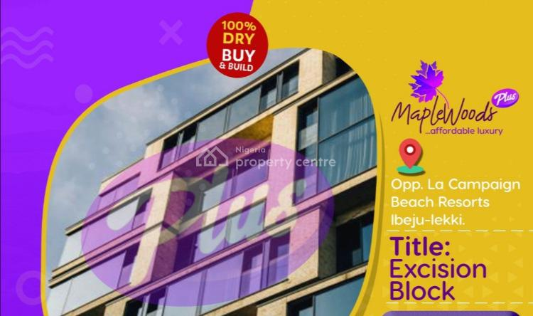 Plots of Land, Opposite La Campaign Tropical Resort, Ibeju Lekki, Lagos, Residential Land for Sale