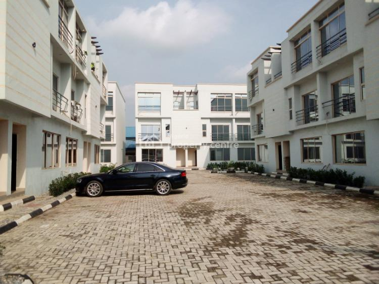 Well Built 4 Bedroom Terrace with Bq, Fayemi Street, Off Ladipo Bateye, Ikeja Gra, Ikeja, Lagos, Terraced Duplex for Rent