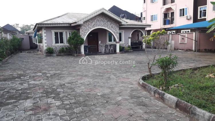 a Decent 4 Bedroom Bungalow with 4 Shops, Bucknor Estate, Ejigbo, Lagos, Detached Bungalow for Sale