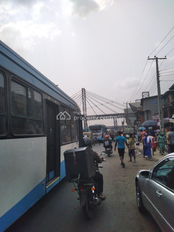 Demolishable Landed Property, Brown Street Bolade, Oshodi, Lagos, Commercial Land for Sale