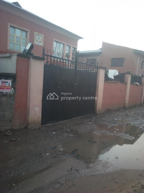 Open Ground Floor Warehouse+ 2 Office and 2 Toilets. Good for Factory, Fagba, Agege, Lagos, Warehouse for Rent