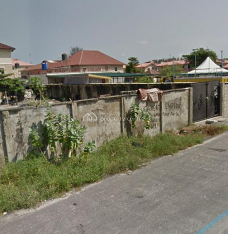 1,300 Square Meters with Governors Consent, Off Abisogun Street, Oniru, Victoria Island (vi), Lagos, Residential Land for Sale