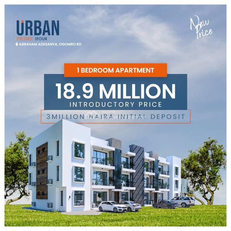 House with Governors Consent. Instant Allocation, Urban Prime Four Abraham Adesanya, Ajah, Lagos, Block of Flats for Sale