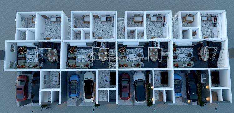 4 Bedroom Terraced Duplex with Home Automation Facilities, Lakowe, Ibeju Lekki, Lagos, Terraced Duplex for Sale