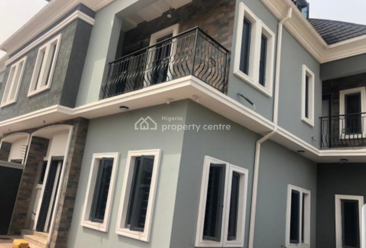 Newly Built 5 Bedroom Duplex with a Room Bq, Off Bashir Shittu, Gra, Magodo, Lagos, Detached Duplex for Rent