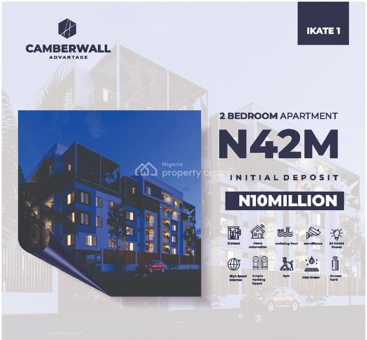Affordable Off Plan 2 Bedroom Apartment, Ikate, Lekki, Lagos, Block of Flats for Sale