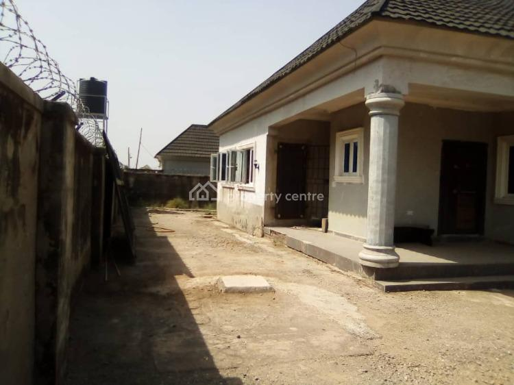 4 Bedroom Fully Detached Well Built Bungalow, Fha Newsite, Lugbe District, Abuja, Detached Bungalow for Sale