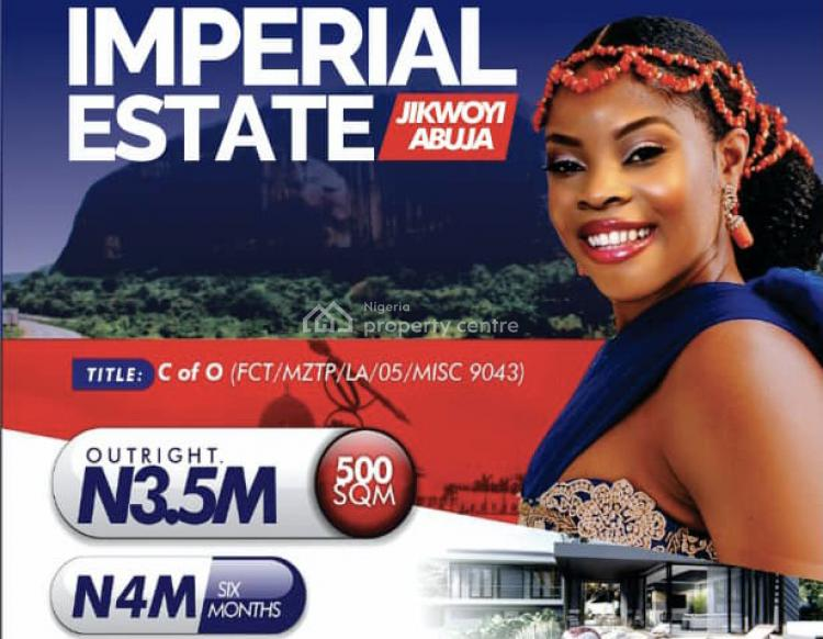 Estate Land with C of O, Jikwoyi Near Cbn Directors Quarters and Christ Embassy, Karu, Abuja, Residential Land for Sale