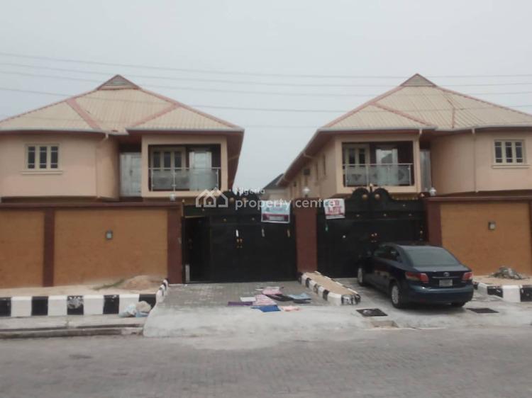 Magñificent 6 Bedroom Fully Detached Duplex, 2 Rooms Bq, Large Compound, Lekki Phase 1, Lekki, Lagos, Detached Duplex for Rent