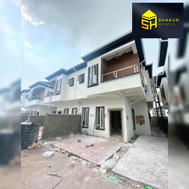 Lovely 4 Bedroom Semi-detached Duplex with a Room Bq, Ikota, Lekki, Lagos, Semi-detached Duplex for Sale
