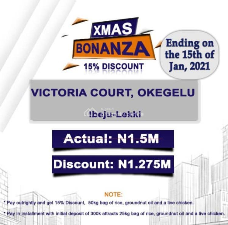 Land, Victoria Court Lekki Free Trade Zone Complex, Ibeju Lekki, Lagos, Mixed-use Land for Sale