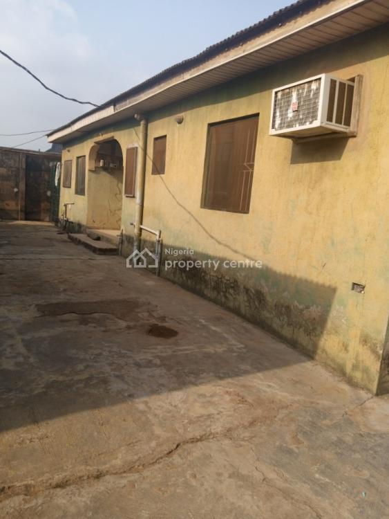 One and Half Plot of with Properties Not Far From Major Road, Ifelodun Street, Off Agric Road, Igando, Ikotun, Lagos, Detached Bungalow for Sale
