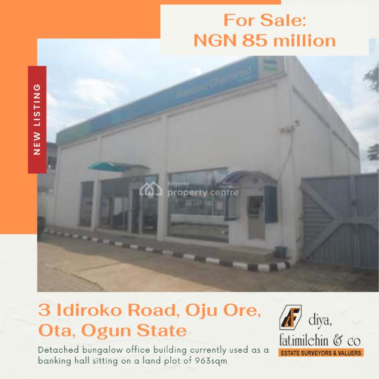 Commercial Office Space, 3 Idiroko Road, Oju Ore, Ado-odo/ota, Ogun, Office Space for Sale