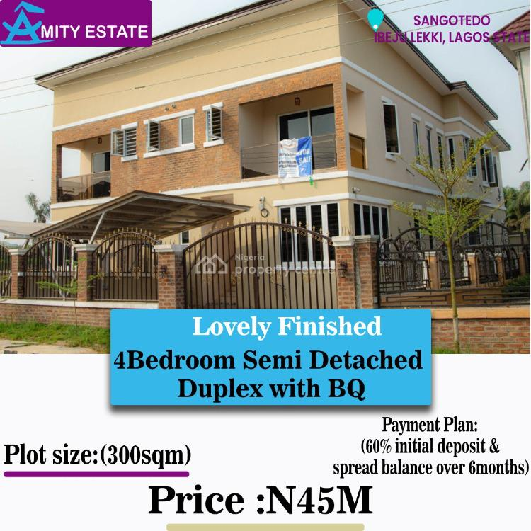 House with C of O Instant Allocation, Amity Estate, Abijo, Lekki, Lagos, Semi-detached Duplex for Sale