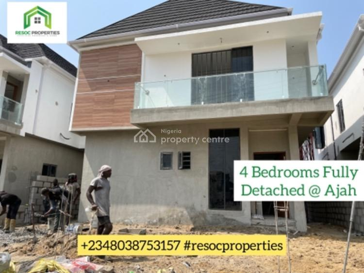 a Classic and Beautifully Designed 4 Bedrooms Fully Detached Duplex, Ajah, Lagos, Detached Duplex for Sale