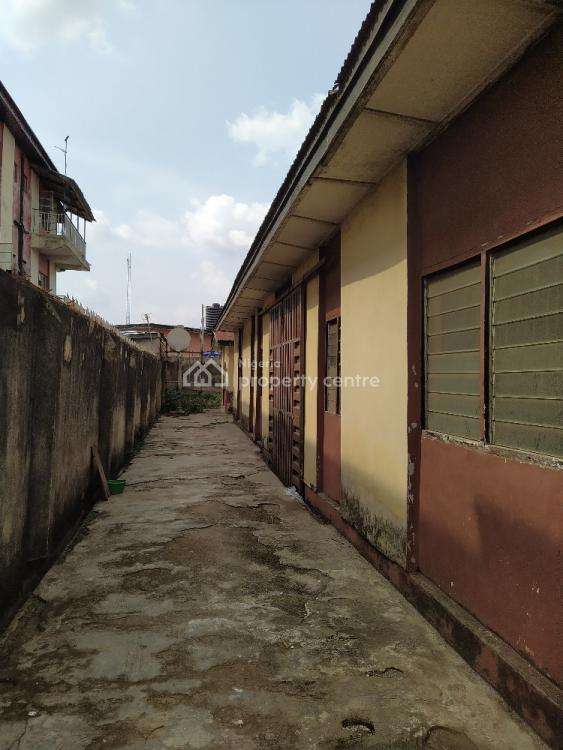 Demarcated Hall Infront and 2 Bedroom Flat at The Bq on a Full Plot, Off Orelope Street, Egbeda, Alimosho, Lagos, House for Sale
