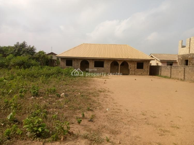 Carcass of Three Mini Flats on a Plot, Harmony Street, Ogijo, Ogun, Residential Land for Sale