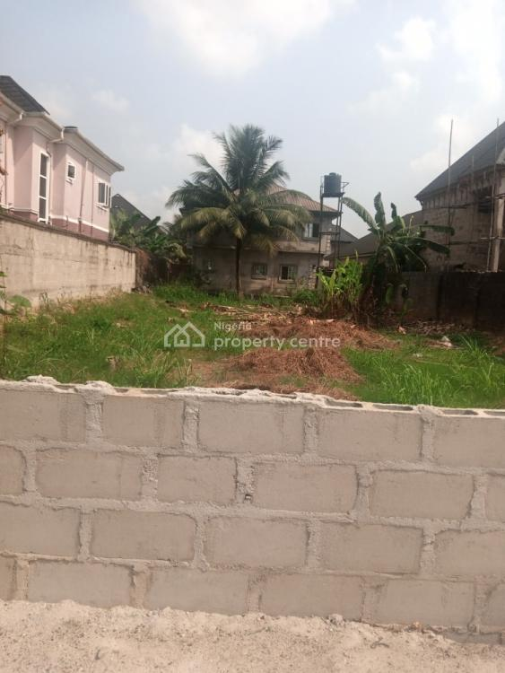 Sharp 1 Plot of Land, Off Pearls Garden Estate, Shell Cooperative, Eneka, Port Harcourt, Rivers, Mixed-use Land for Sale