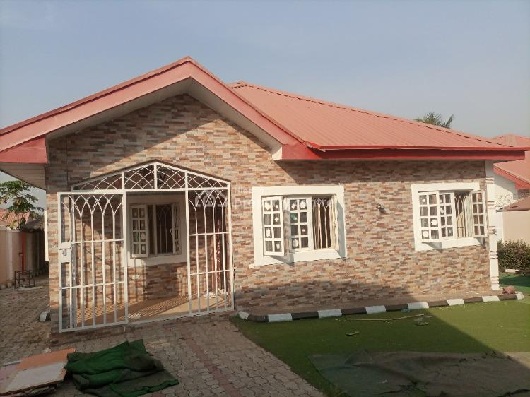 Nice 3 Bedroom Bungalow with 2 Rooms Bq, Galadimawa, Abuja, Detached Bungalow for Rent