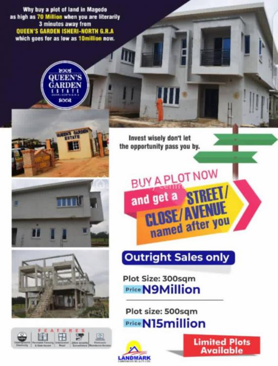Queens Garden Estate, Isheri North, Lagos, Residential Land for Sale