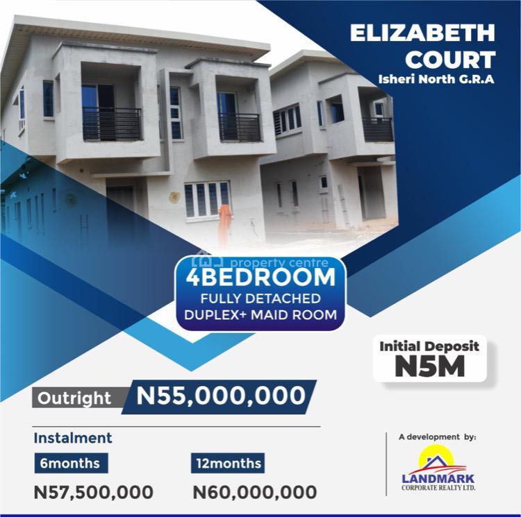 Elizabeth Court, Ojodu Berger, Isheri North, Lagos, Detached Duplex for Sale