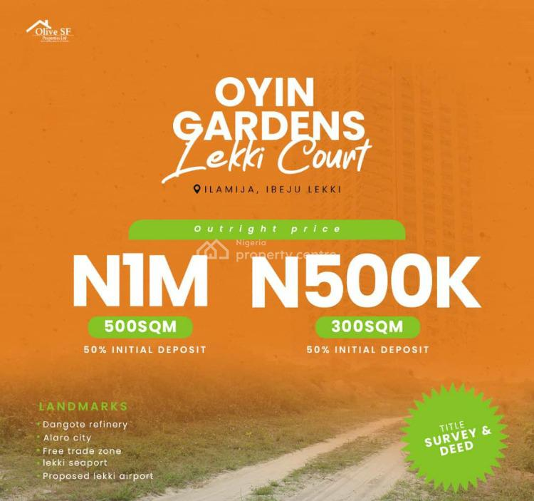 Affordable Land with Registered Survey and Deed of Assignment, Ilamija, Ibeju Lekki, Lagos, Residential Land for Sale