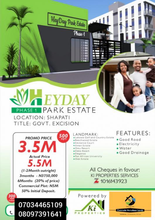 Ready to Build Plots of Land, Behind Eminence Court, Bogije, Ibeju Lekki, Lagos, Mixed-use Land for Sale