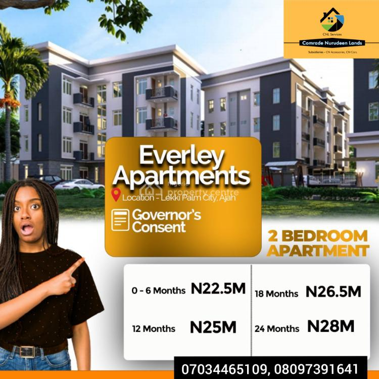 Luxury 3 Blocks of 22 Units 2 Bedroom Apartments, Ajah, Lagos, Block of Flats for Sale