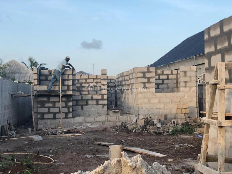 Fenced Land with Semi Finished Structures, Oko Afo Road, Oko Afo, Badagry, Lagos, Block of Flats for Sale