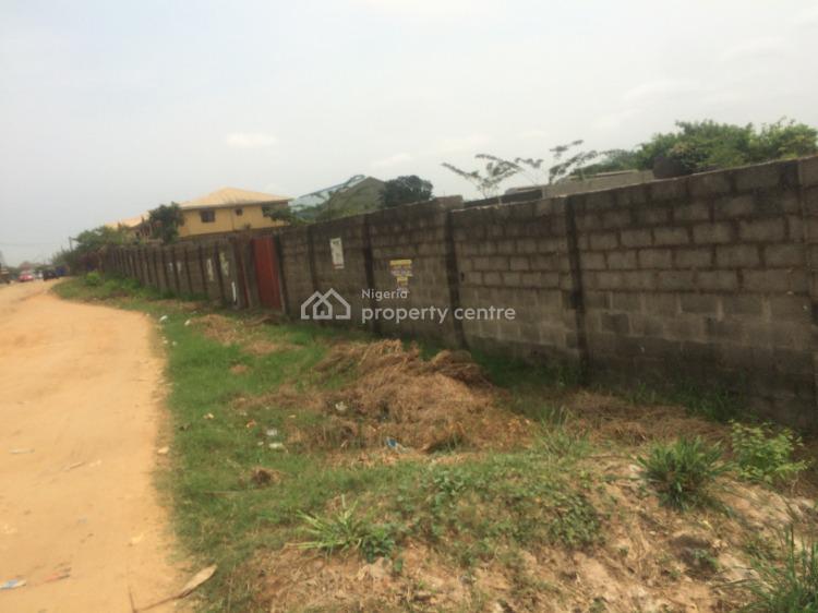 Full Plot of Fenced & Gated Land, Valley View Estate, Ebute, Ikorodu, Lagos, Residential Land for Sale