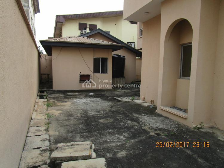 4 Bedroom Semi Detached Duplex with 2 Rooms Bq, 2nd Avenue Estate, Old Ikoyi, Ikoyi, Lagos, Semi-detached Duplex for Rent