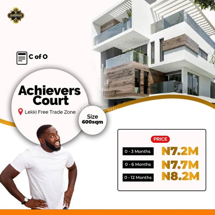Achievers Court, Lekki Free Trade Zone, Lekki, Lagos, Residential Land for Sale