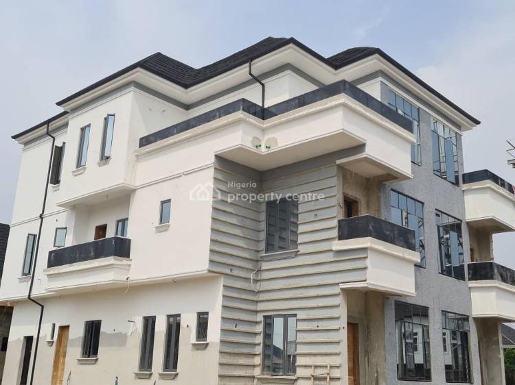 Luxury 5 Bedroom Semi Detached Duplex with a Room Bq, Chevron Drive, Lekki, Lagos, Semi-detached Duplex for Sale