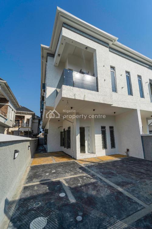 Newly Built 4 Bedroom Semi Detached House, Chevron Alternative, Lekki Expressway, Lekki, Lagos, Semi-detached Duplex for Sale