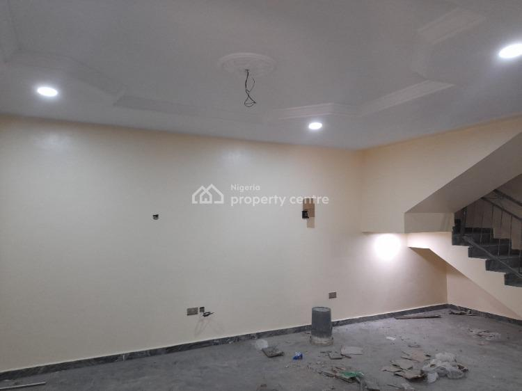 Luxury 3 Bedroom Duplex with One Room Service Quarters, Opposite Government House, Old Gra, Port Harcourt, Rivers, Semi-detached Duplex for Rent