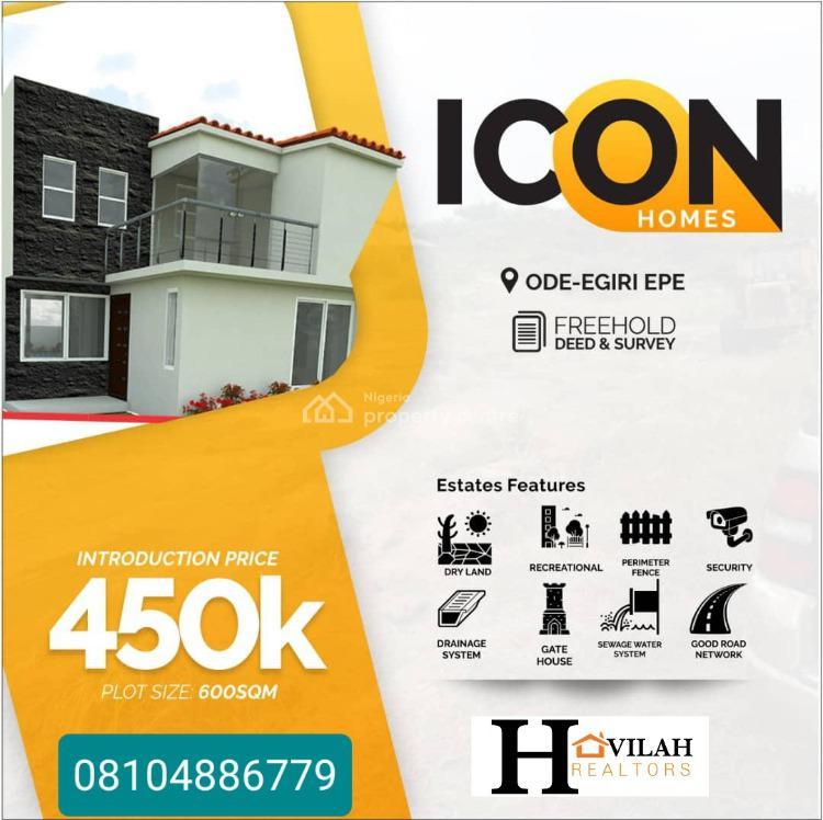 100% Dry Land, Odo Egiri, Epe, Lagos, Mixed-use Land for Sale