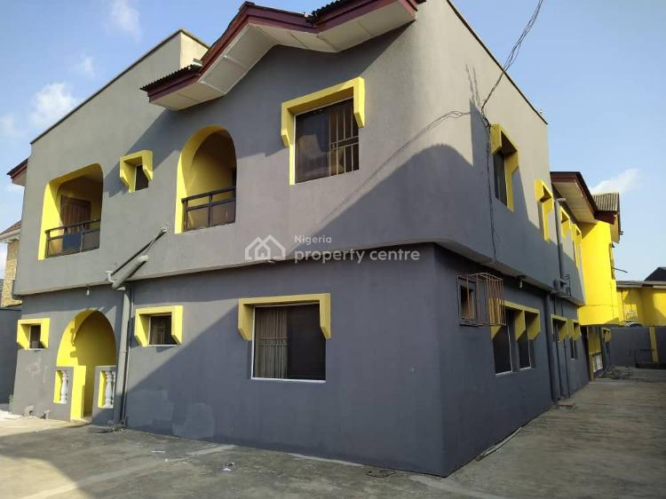 Clean  4 Unit of 3 Bedroom with C of O, Tejumola Estate Embeds, Egbeda, Alimosho, Lagos, Block of Flats for Sale